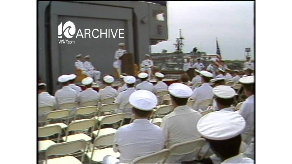 WAVY Archive: 1981 USS Moinester Commendation