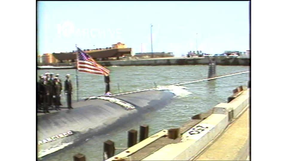 WAVY Archive: 1981 USS San Francisco Ceremony