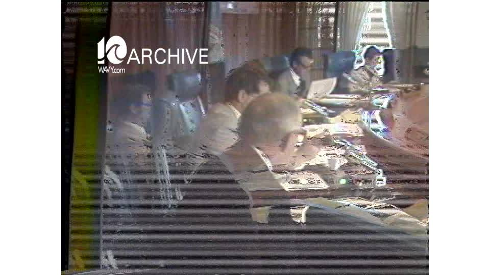 WAVY Archive: 1981 Virginia Beach Don Merrick Resignation
