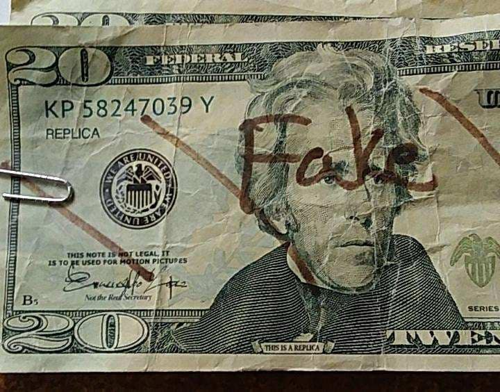 perquimans county fake bills