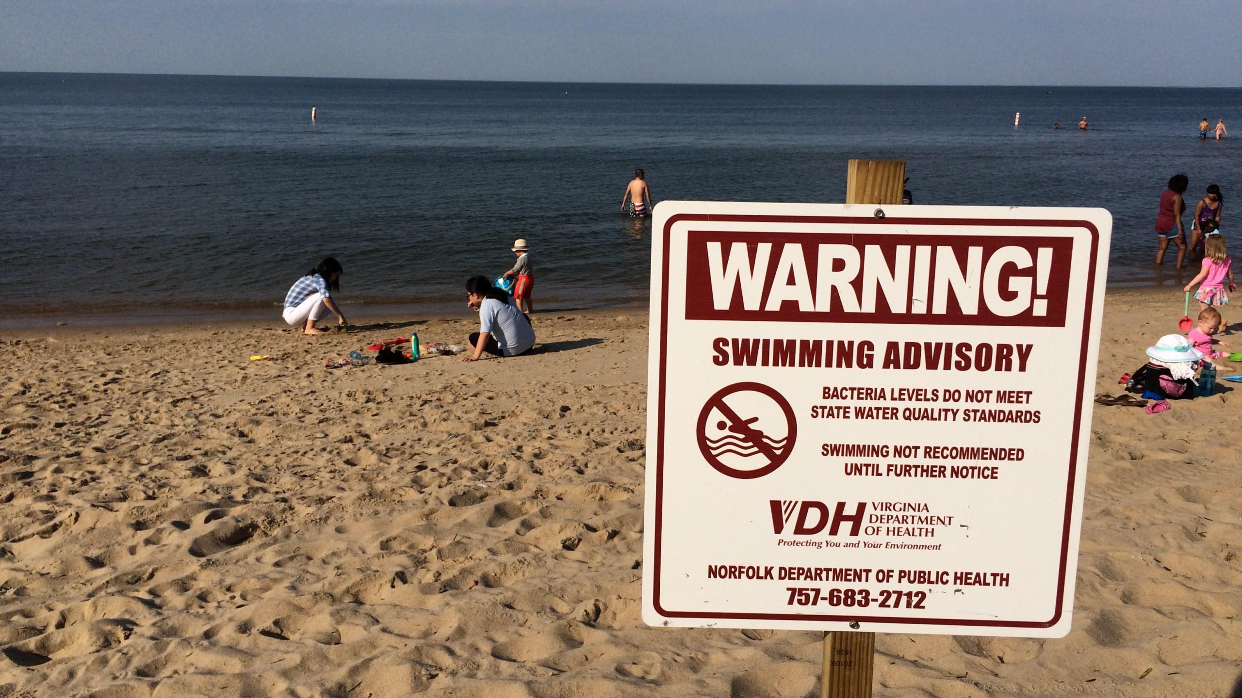 swimming advisory ocean view norfolk_313385