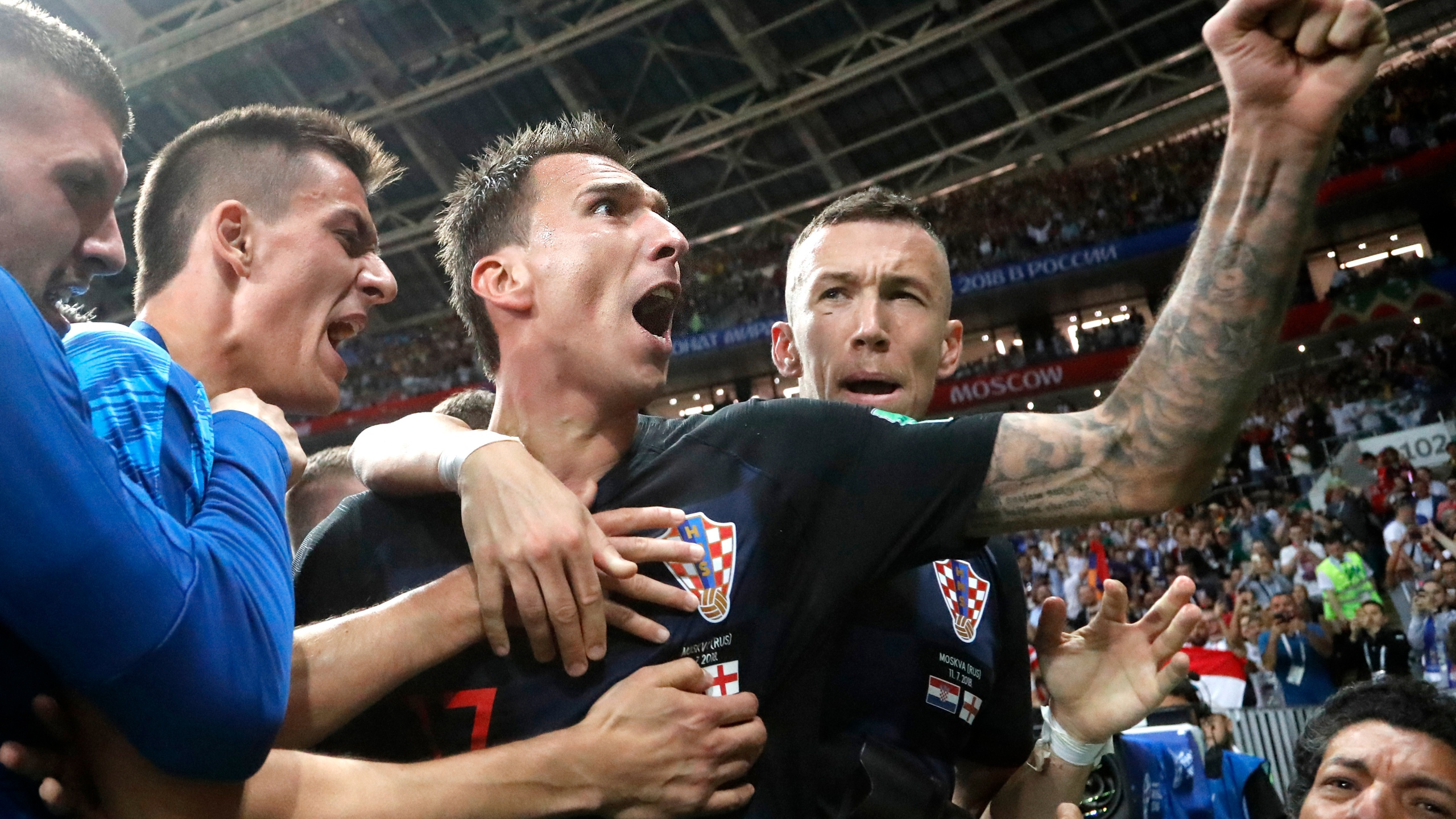APTOPIX Russia Soccer WCup Croatia England_1531342310940
