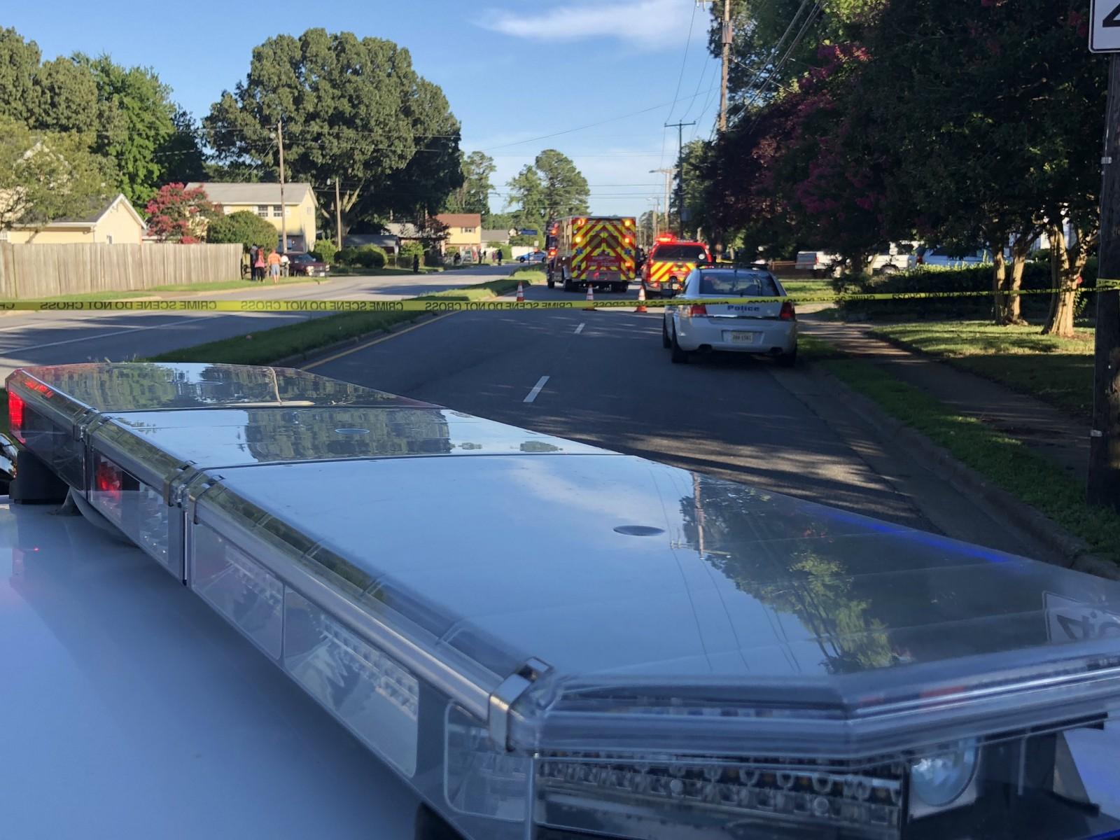 Big Bethel Road high speed crash