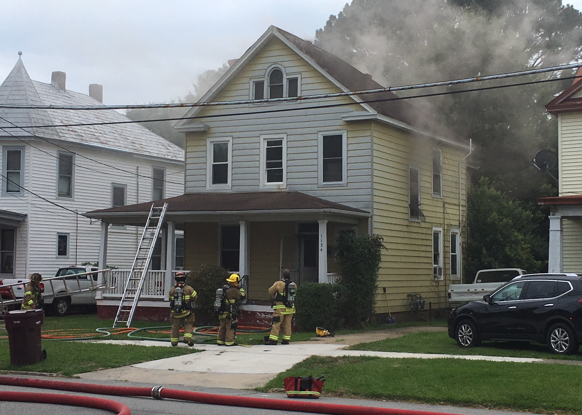 South Norfolk Rodgers Street fire