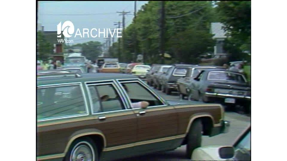 WAVY Archive: 1979 Chincoteague Pony Swim