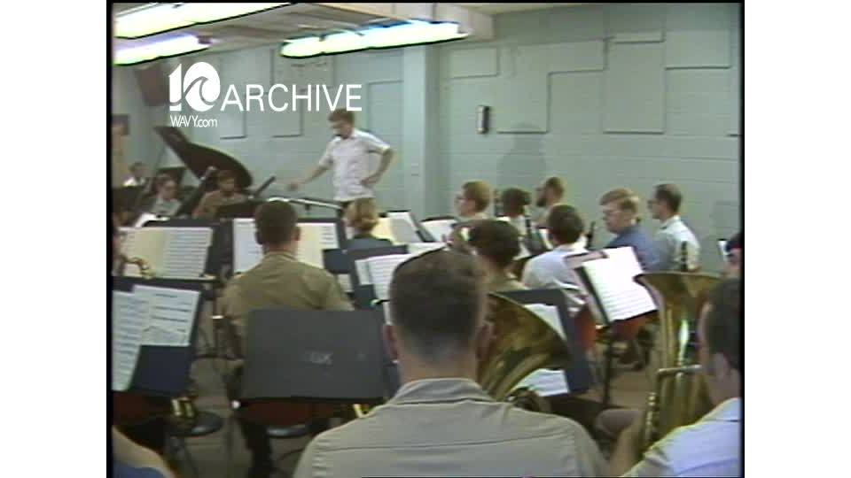 WAVY Archive: 1981 Armed Forces School of Music