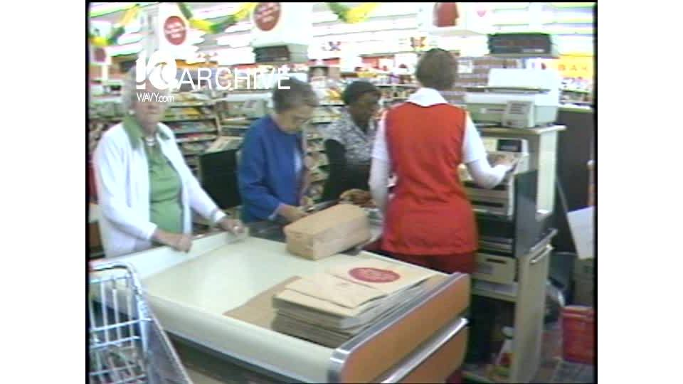 WAVY Archive: 1981 Big Star Grocery Store