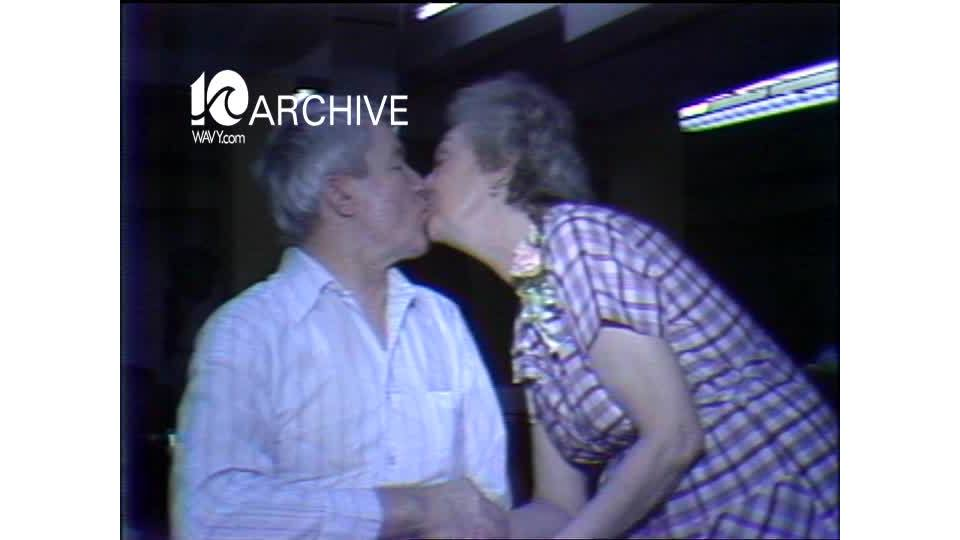 WAVY Archive: 1981 Elderly Couples Wedding