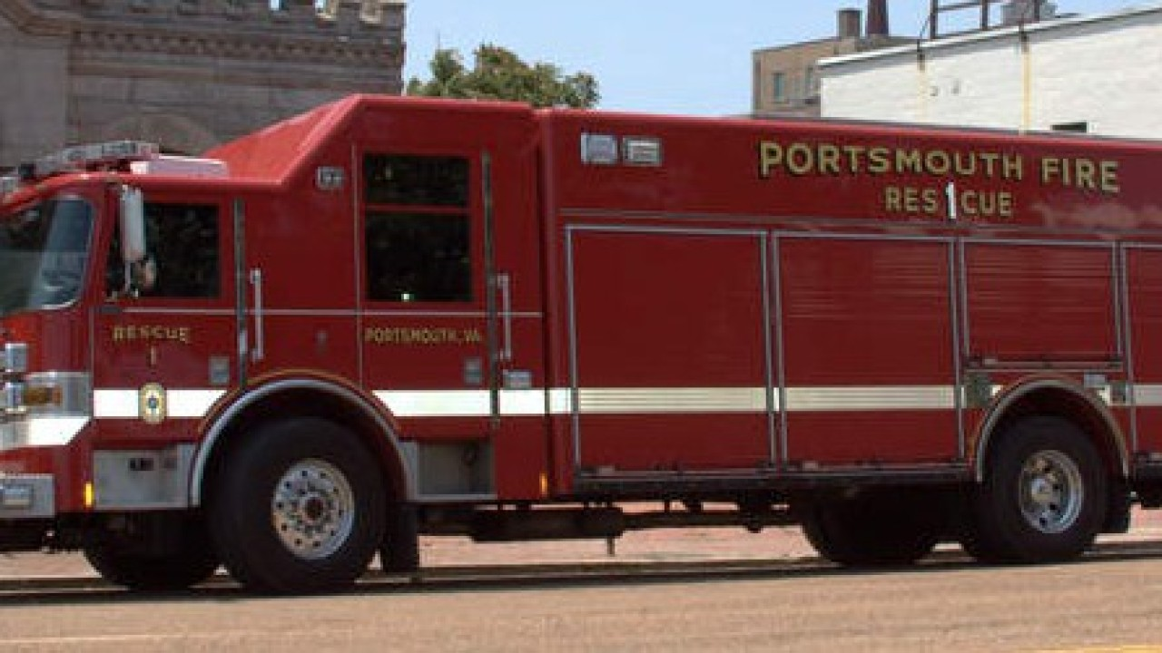 11 people, including 5 children, displaced following Portsmouth fire