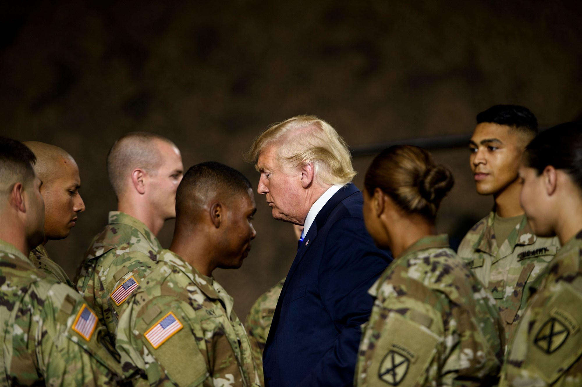 President Donald Trump Military Parade NBC
