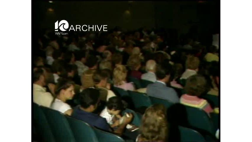 WAVY Archive: 1981 Saint Leo College Graduation