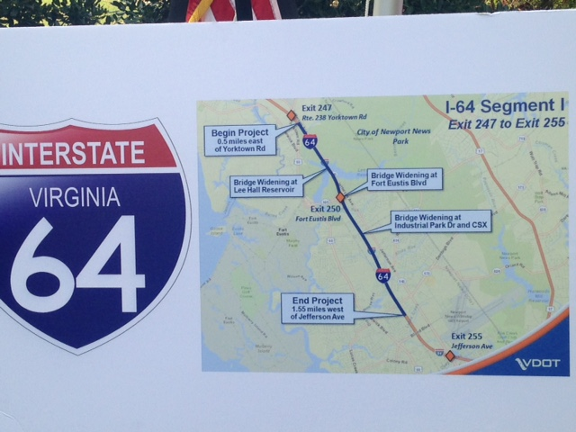 I-64 widening project_184641