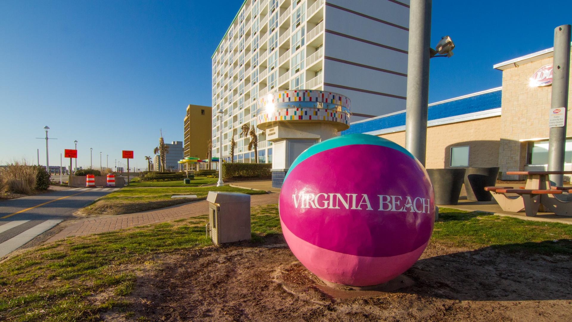 Virginia Beach Oceanfront Giant Beach Ball generic