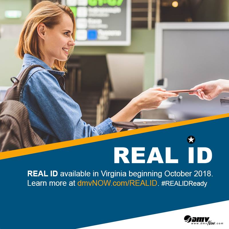 Virginia DMV Real ID