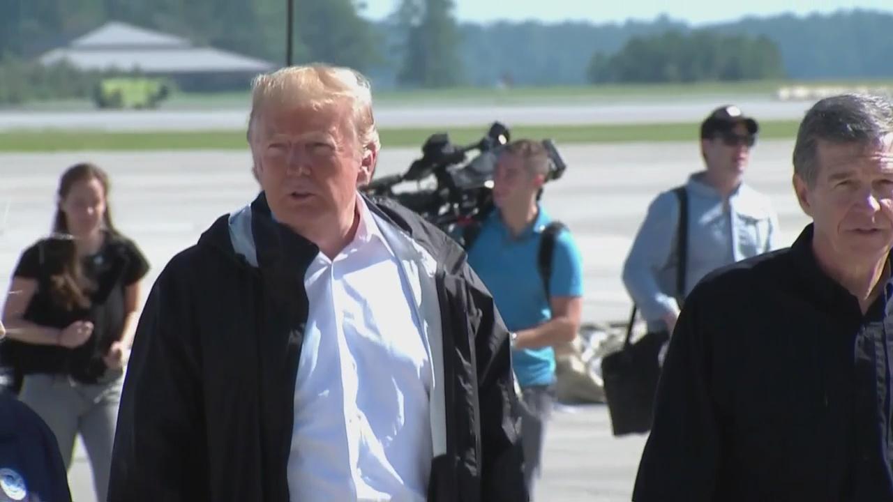 Trump Surveys Florence Damage_1537368350824.jpg
