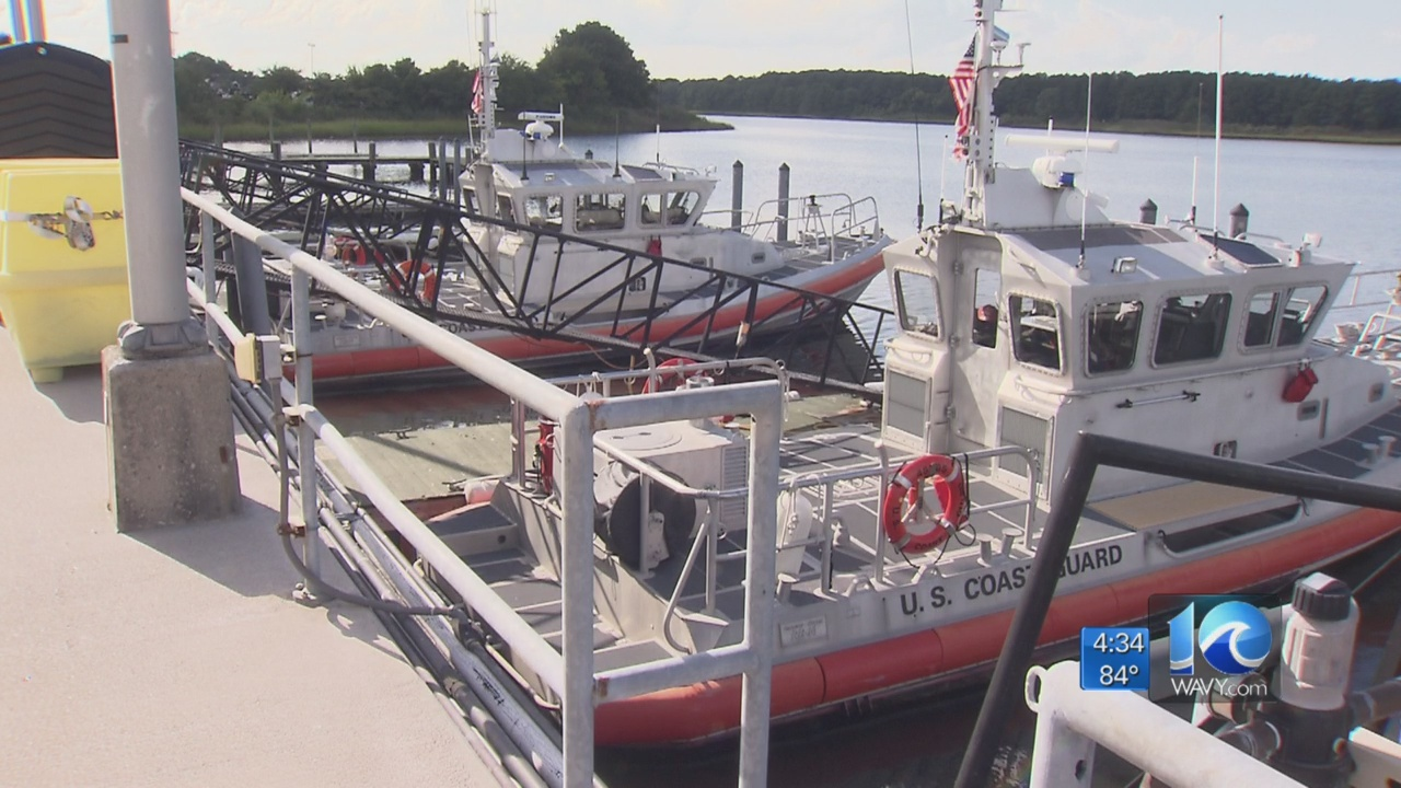 Coast Guard boats