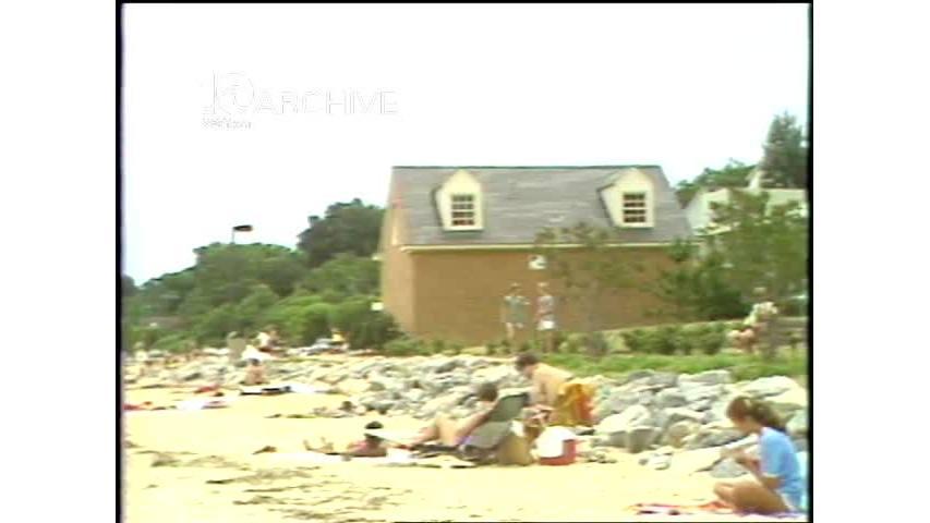 WAVY Archive: 1981 Yorktown Beach