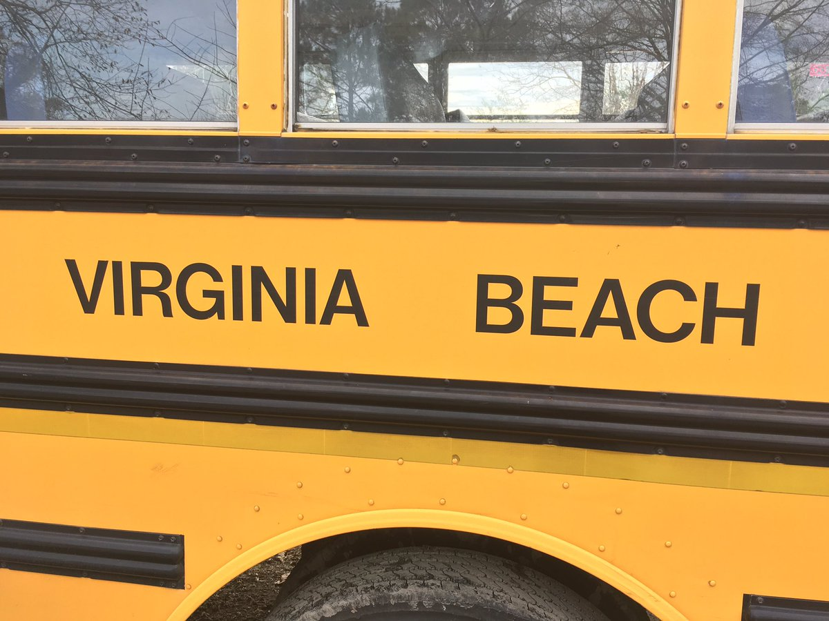 Virginia Beach School Bus Generic