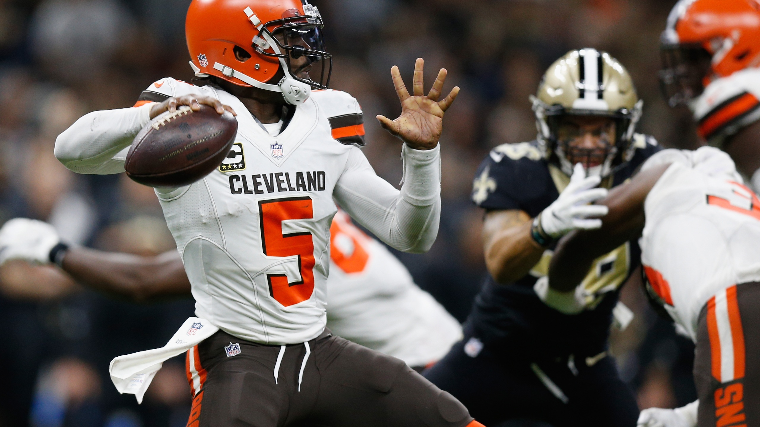 Tyrod Taylor Cleveland New Orleans