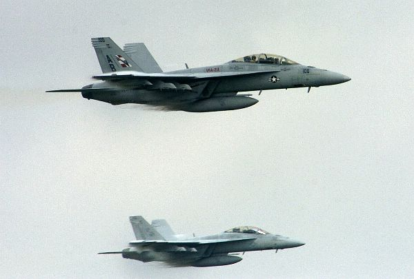 F_A-18F Super Hornets assigned to USS Theodore_124479