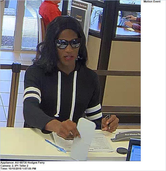 Chesapeake Wells Fargo robbery suspect 2