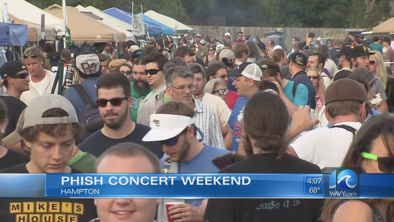 Phish returns to the 'Mothership' this weekend in Hampton after 5
