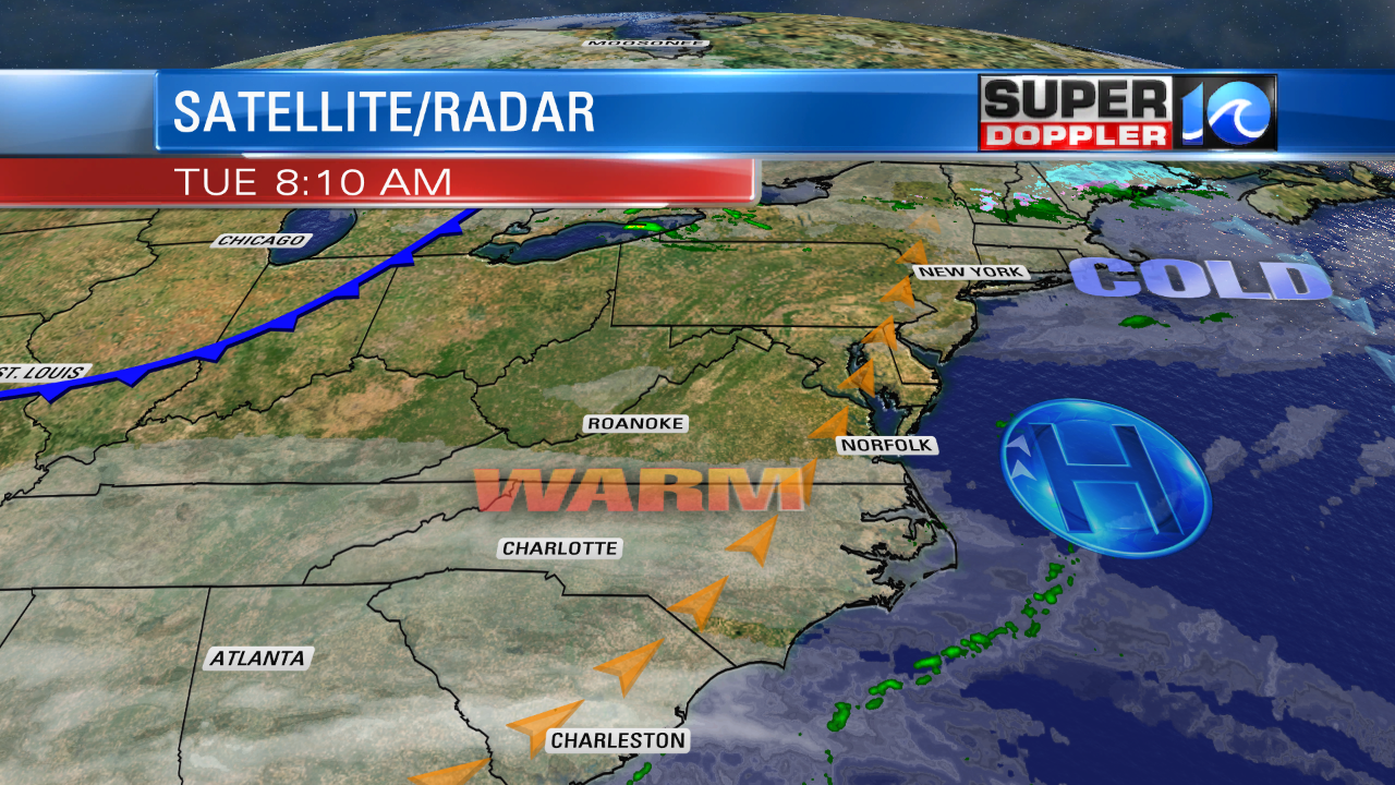Blog: Nice Weather Today  Watching A Potential Weekend Storm