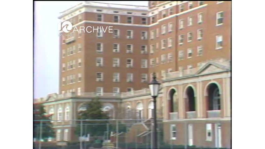 WAVY Archive: 1981 Hampton Chamberlain Hotel