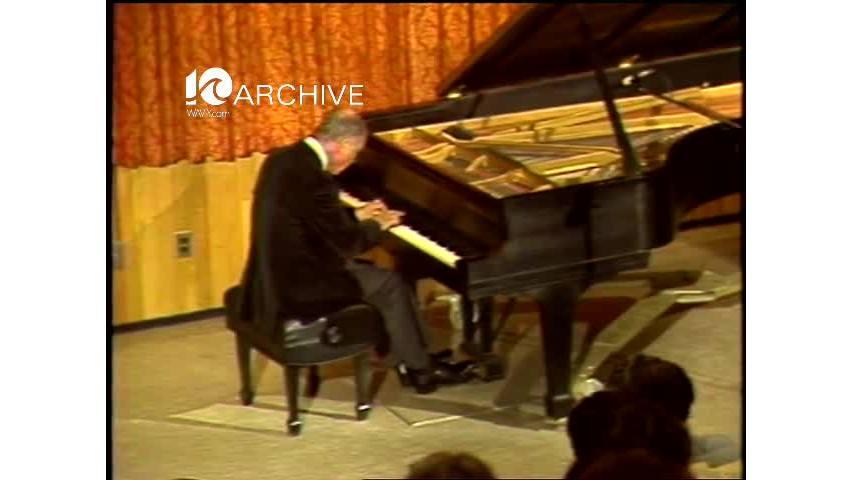 WAVY Archive: 1981 Pianist Concert