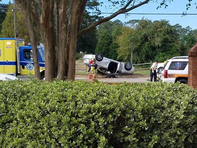 VB Laskin Road accident