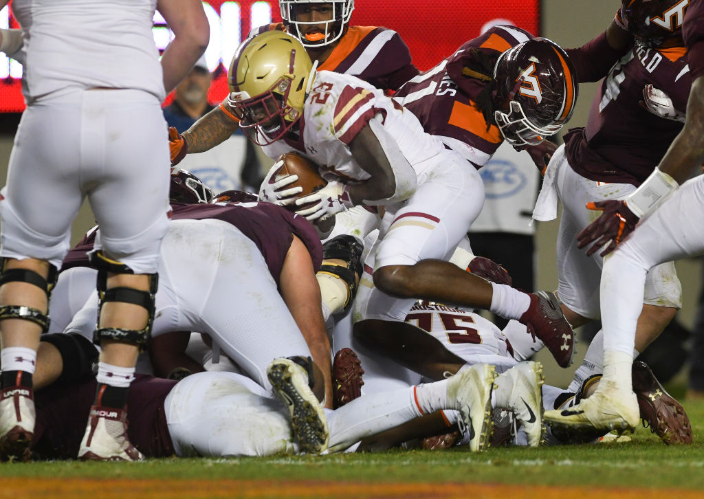 Virginia Tech Hokies football vs. Boston College