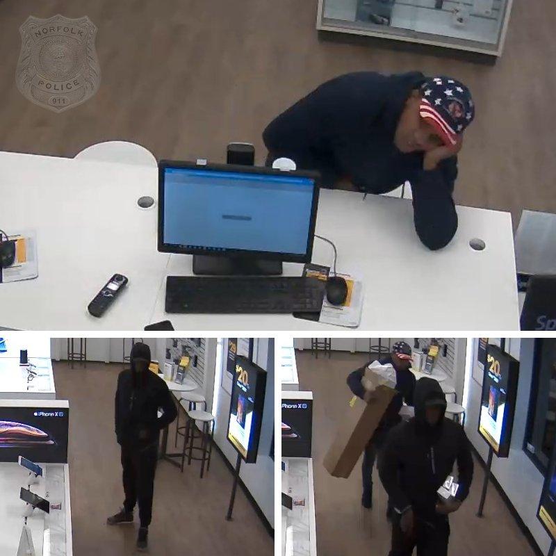 Norfolk Sprint store robbery