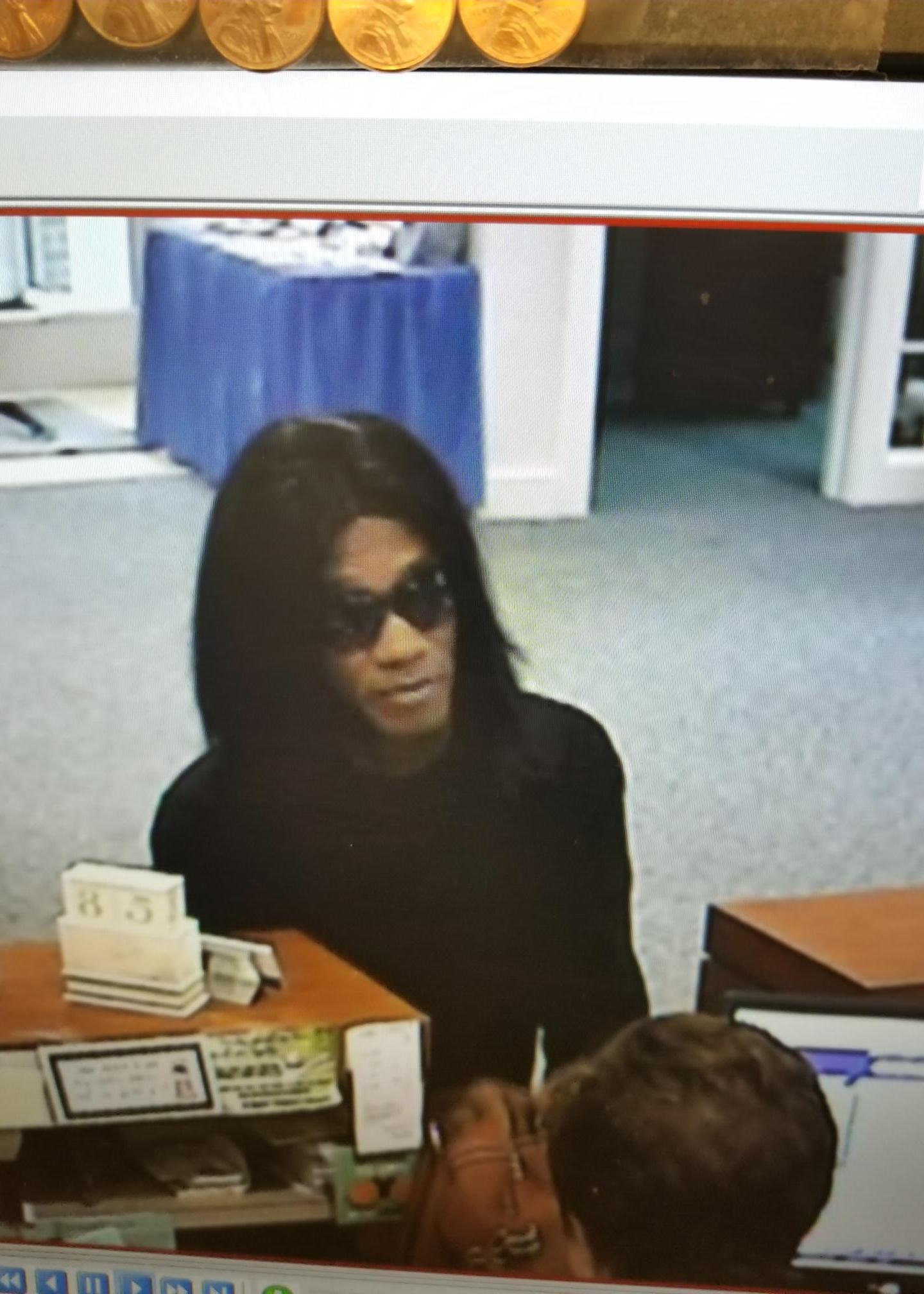 Old Point National Bank bank robbery suspect