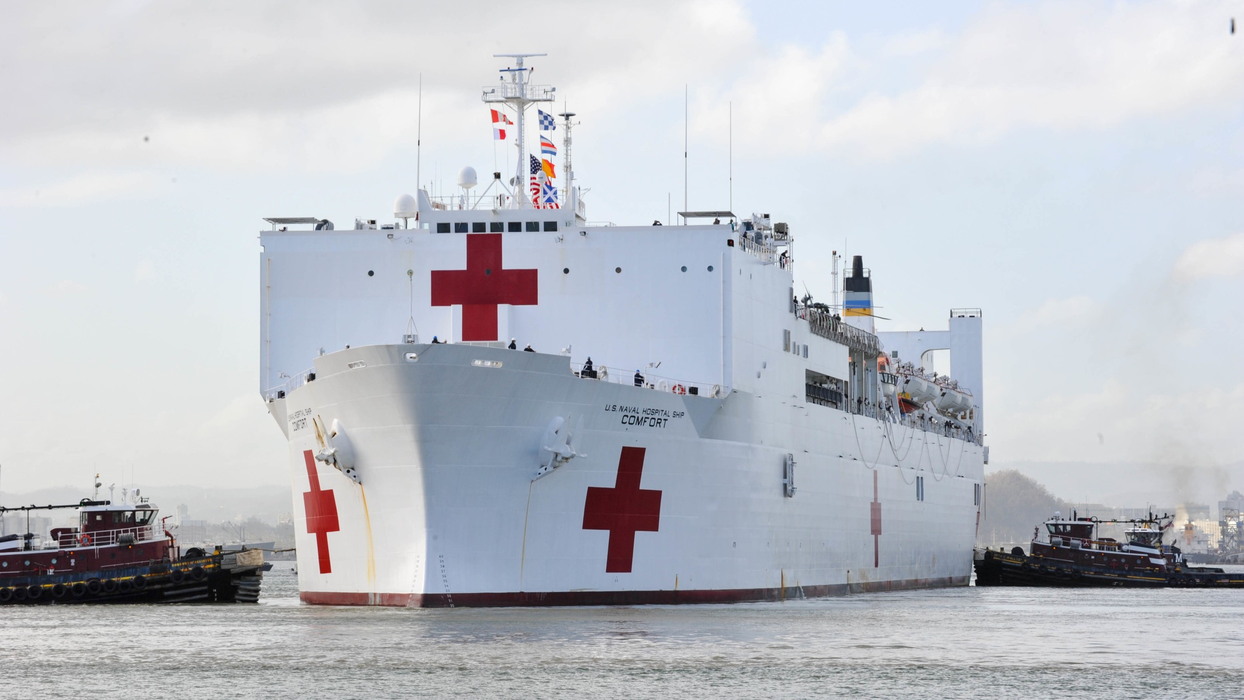 USNS Comfort arrives in Puerto Rico_641717
