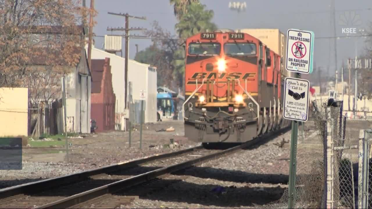 Mother charged after 8-year-old killed by train in California
