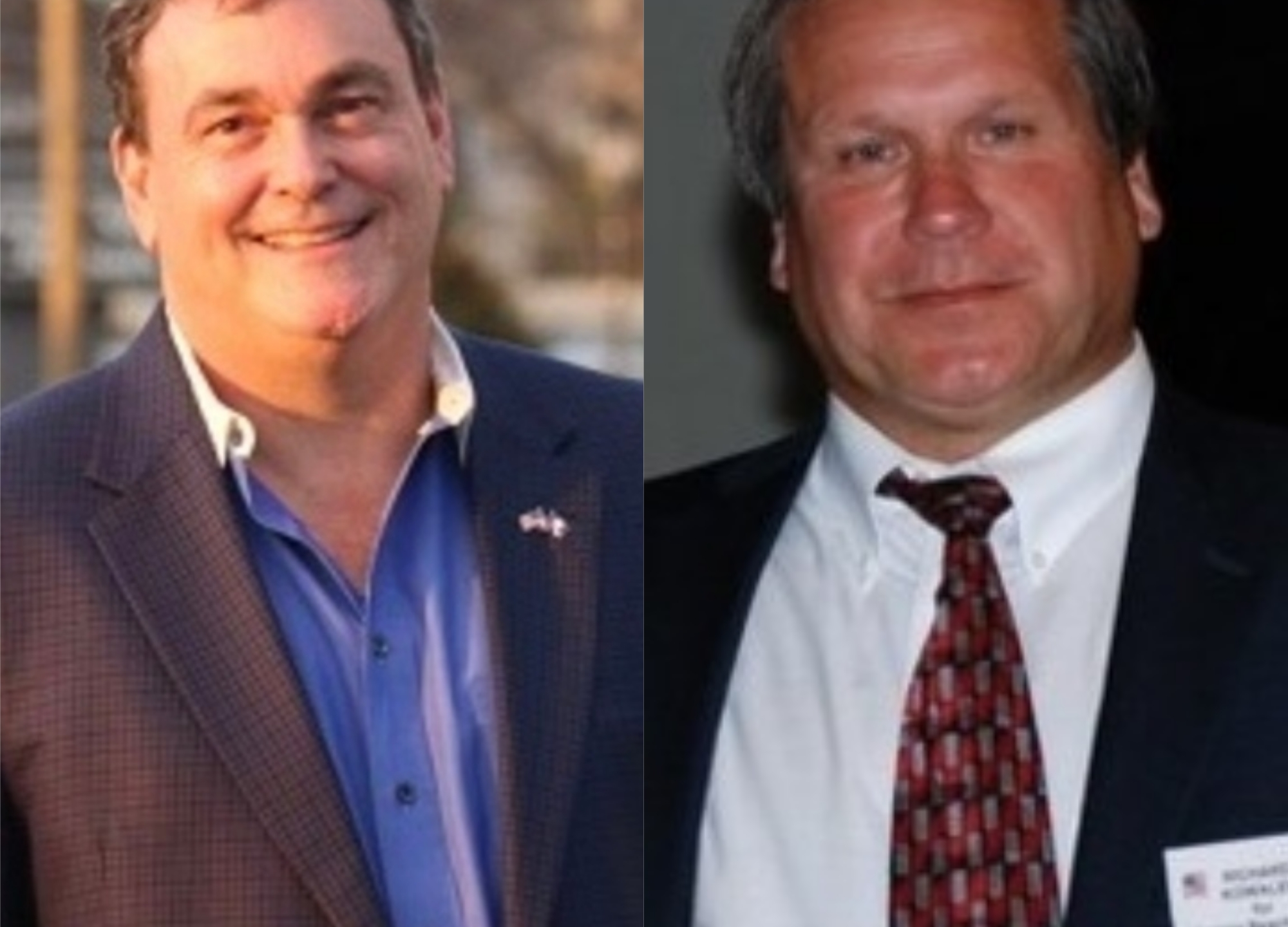 David Nygaard (left) and Richard RK Kowalewitch