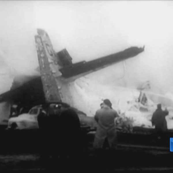 1958 Navy plane crash on Granby