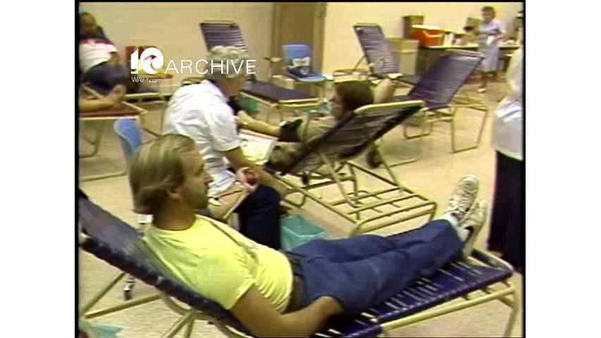WAVY Archive: 1981 American Red Cross Blood Drive