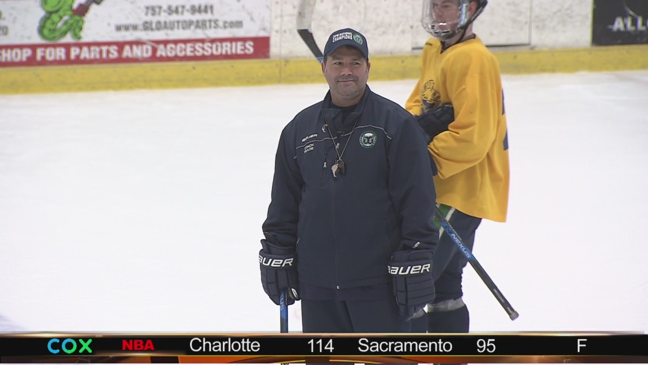 Admirals hall of famer Rod Taylor now a championship coach