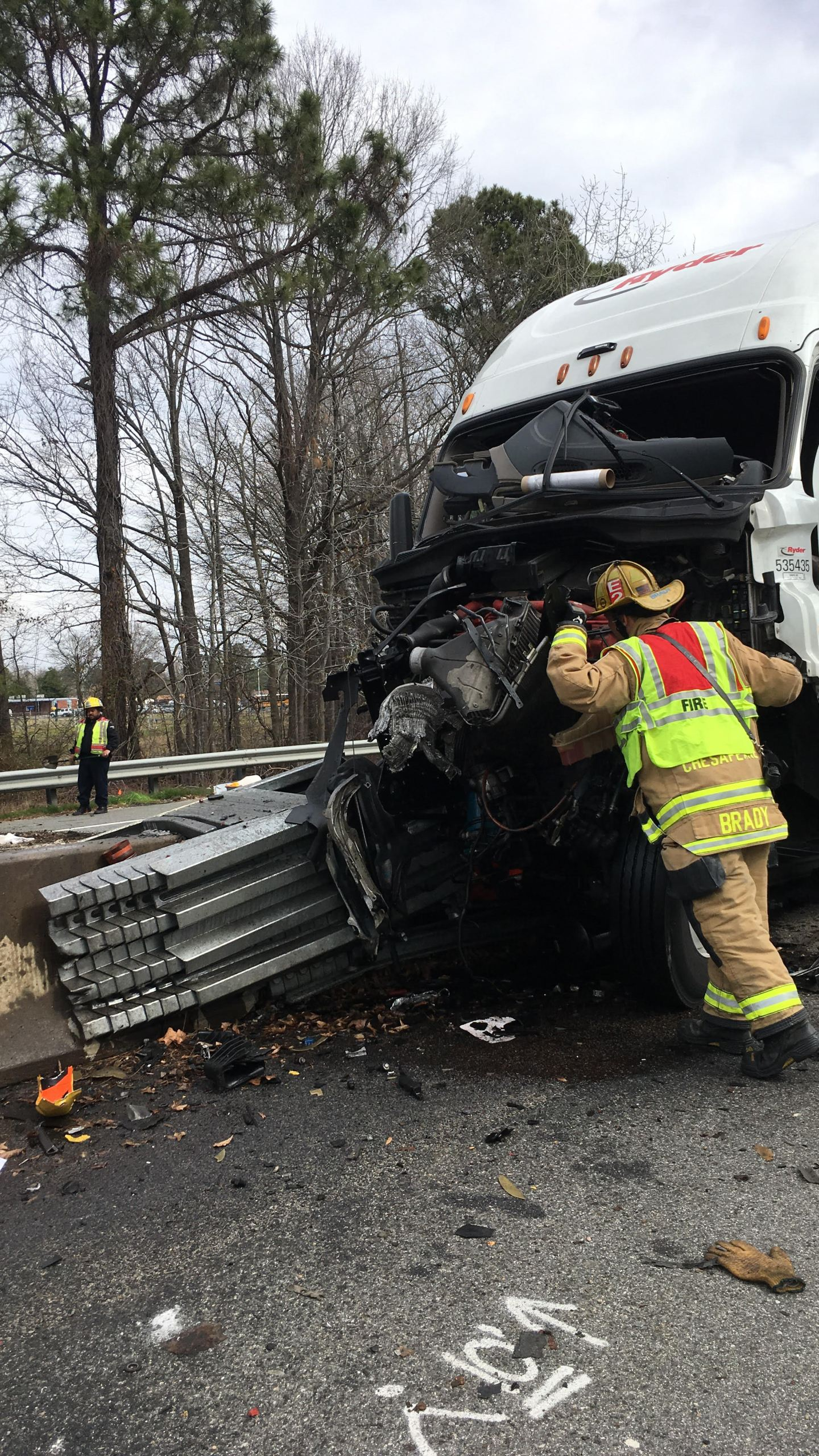 State police: Diesel fuel spills in crash involving tractor