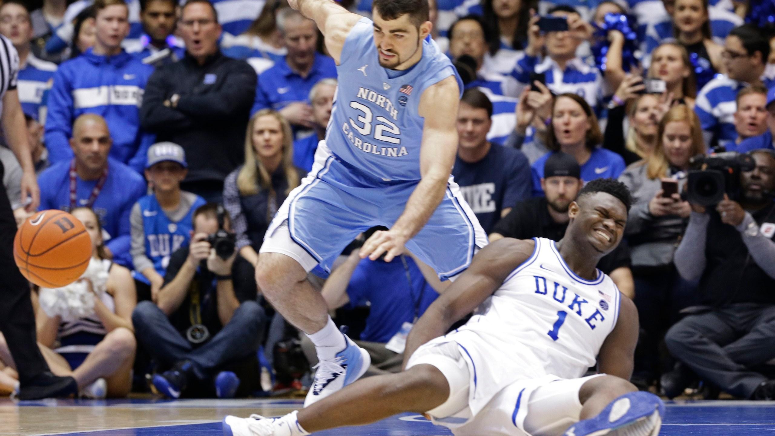 North Carolina Duke Basketball_1550723098520