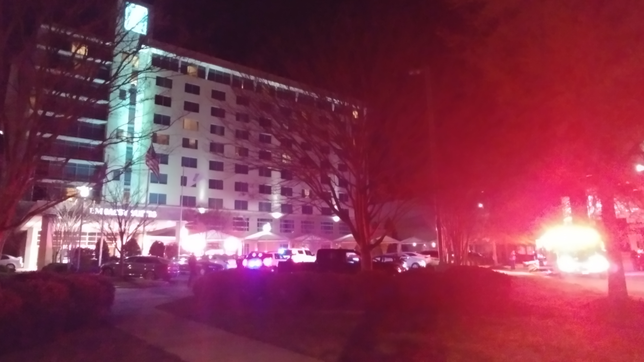Embassy Suites fire