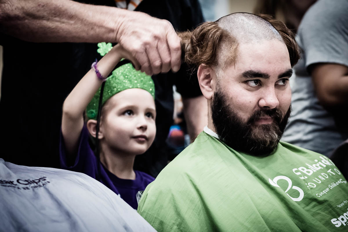 St. Baldrick's Day Shave Event_703779
