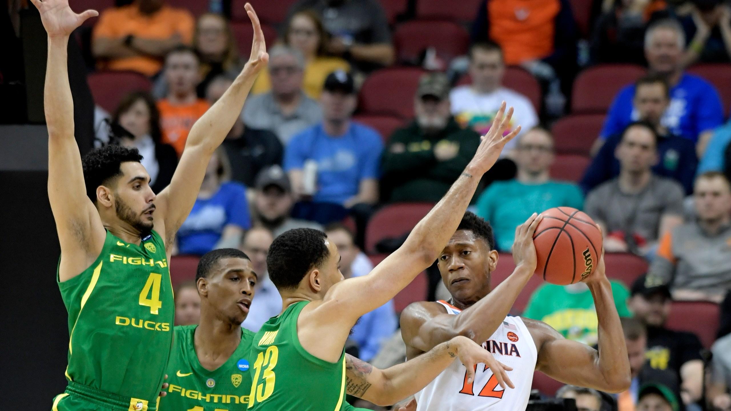 NCAA Oregon Virginia Basketball_1553836527250
