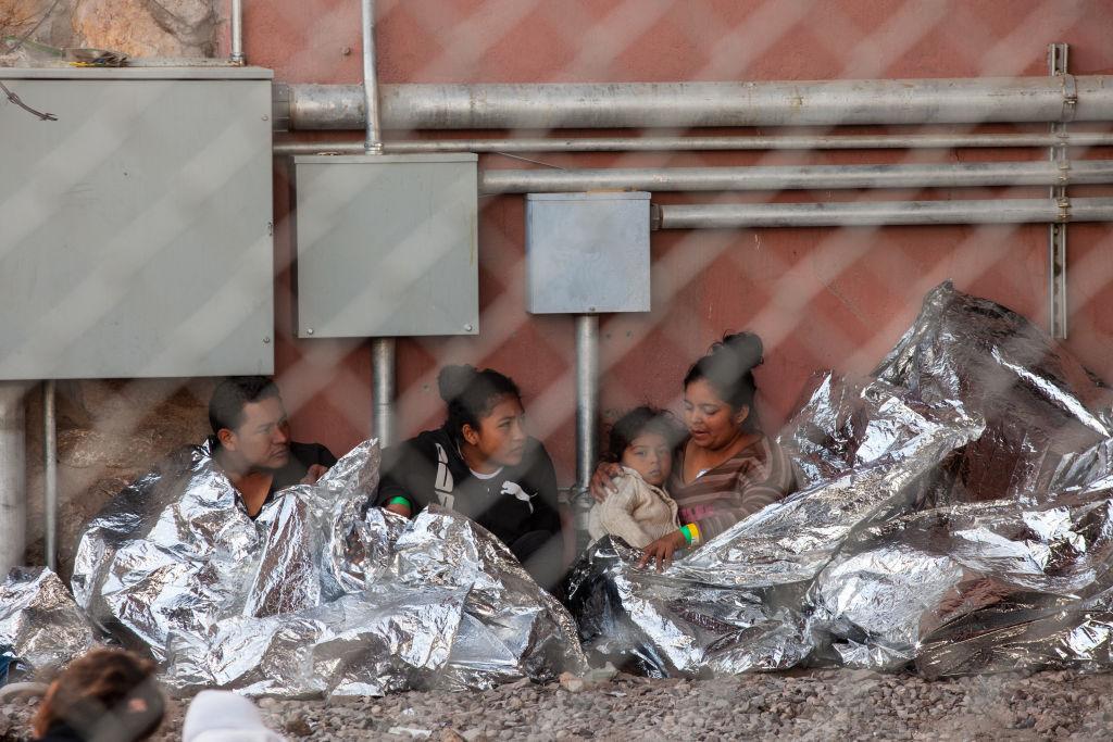 Migrants in El Paso
