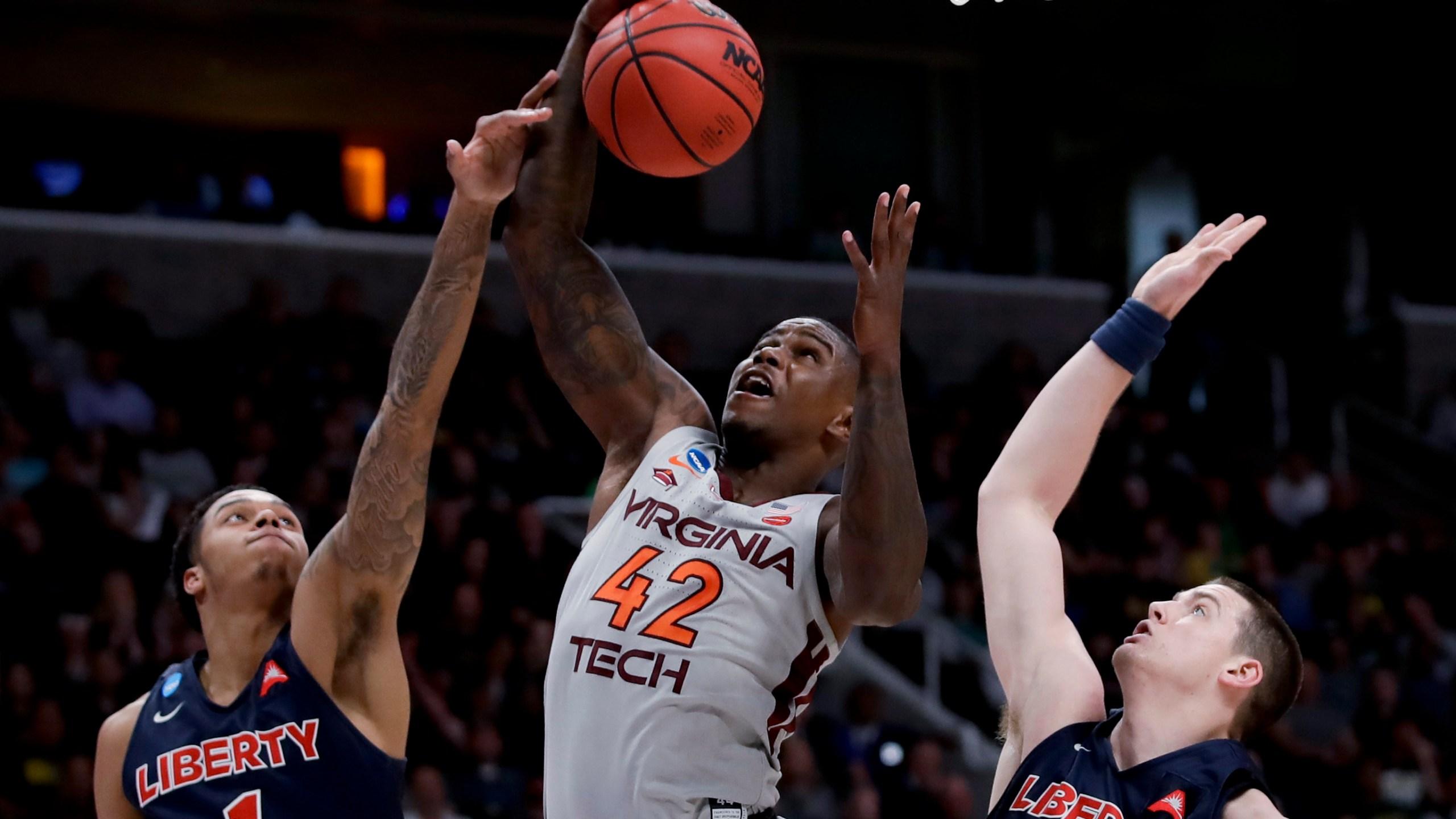 NCAA Liberty Virginia Tech Basketball_1553743010774