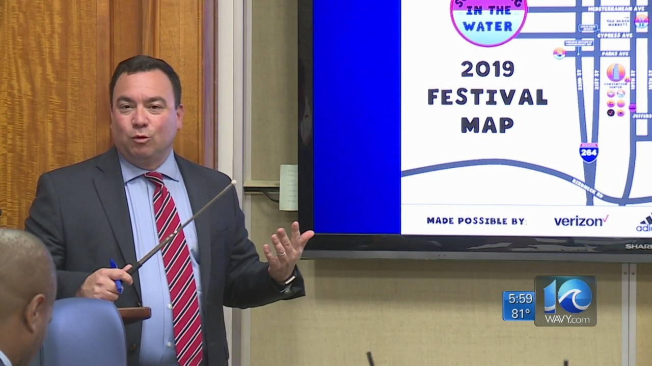 First responders plan for Something in the Water festival briefed to council