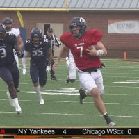 QB's battle as Blue beats White in ODU Spring game