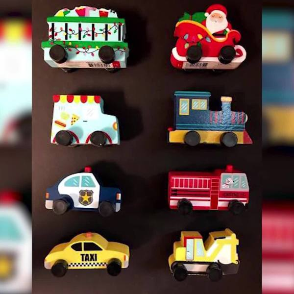 Target recalls wooden toy vehicles