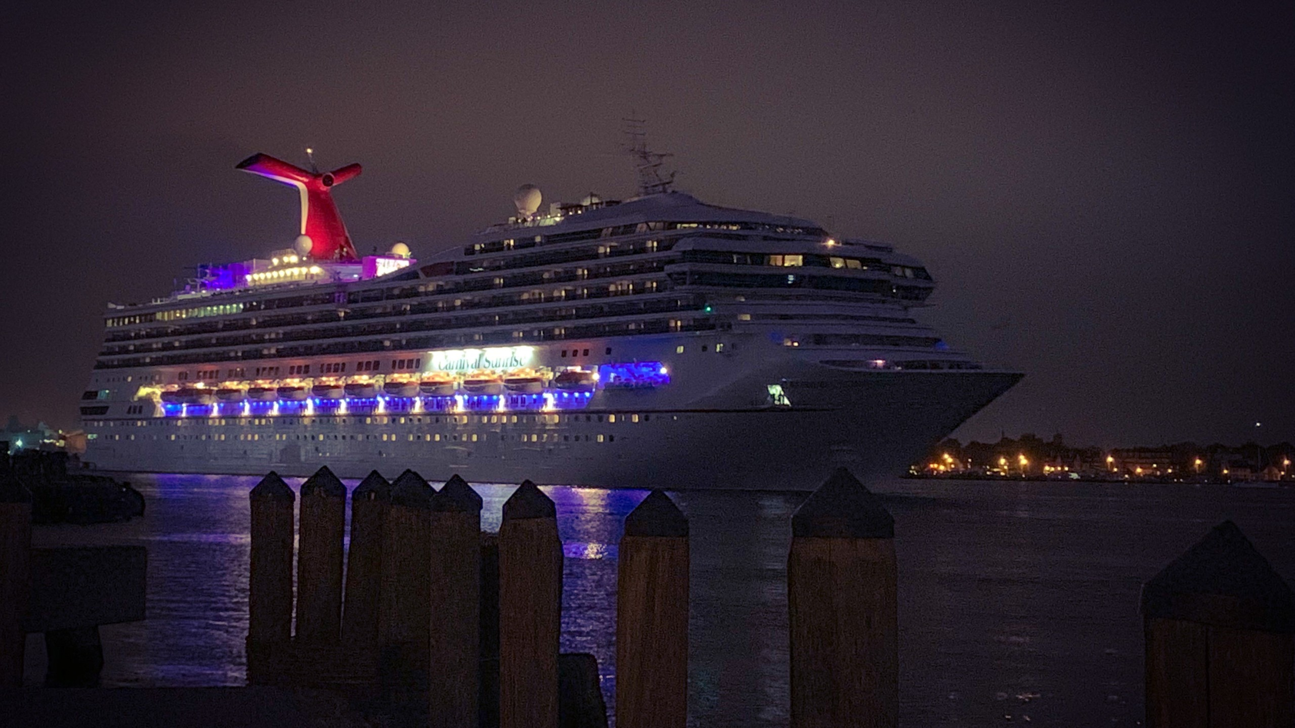 Newly renovated Carnival Sunrise makes its debut in Norfolk